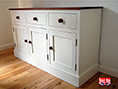 Painted Shaker Sideboard with Solid Pine Top