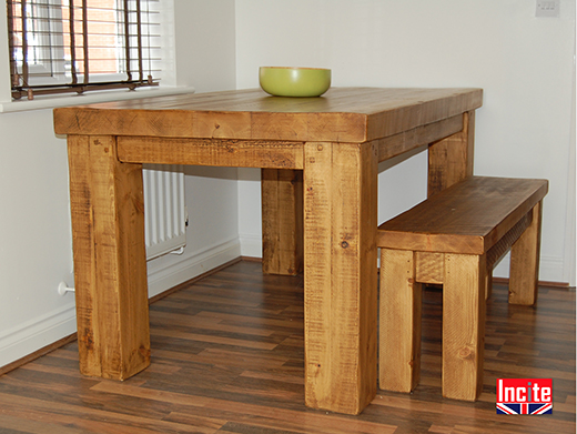 Solid Rustic Dining Room Furniture