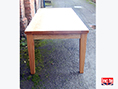 Oak Tapered Legged British Made Table