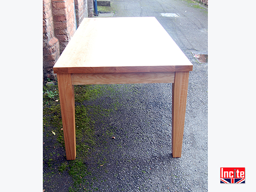 Derbyshire Made Solid Oak Dining Table