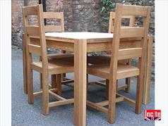 Handmade British Solid Oak Table