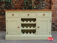 Bespoke Painted Dresser Base with Pine Top