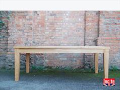 Solid Oak Tapered Leg Table