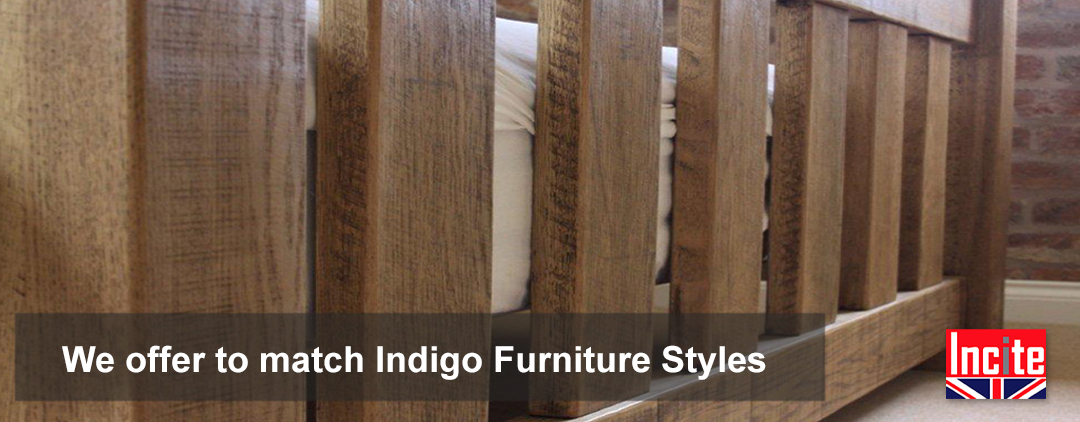 Rustic Plank Bedroom Furniture handcrafted to order we offer match to Indigo Furniture customers