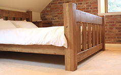 Wooden Bedroom Furniture Handmade to order by Incite Interiors