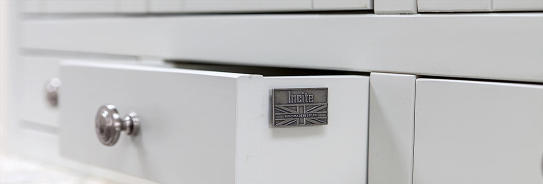 Custom Made Kitchens, freestanding kitchen units, Kitchen larder units, Kitchen utility units, handmade to order in Draycott Derbyshire by Incite Interiors
