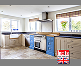 Hand Painted Two Tone Kitchen 2