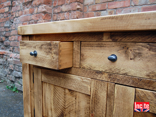 Plank Pine Solid Wooden Drawers