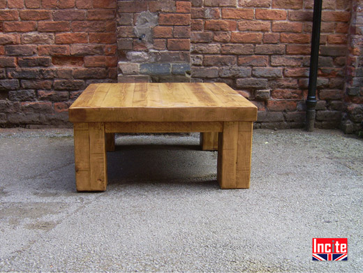 Handmade Rustic Solid Wooden Coffee Table