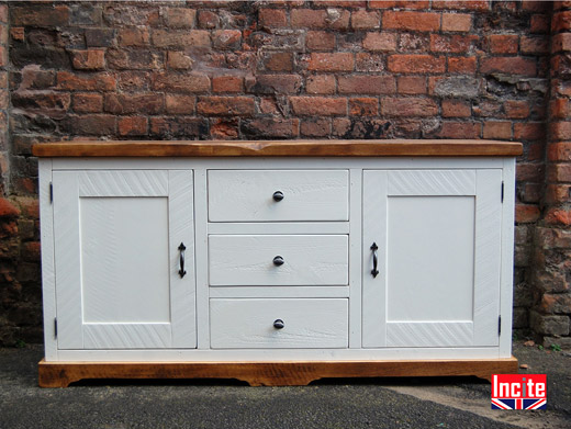 Handmade Painted Rustic Dresser Base