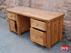 Rustic Plank Pine Home Office Furniture
