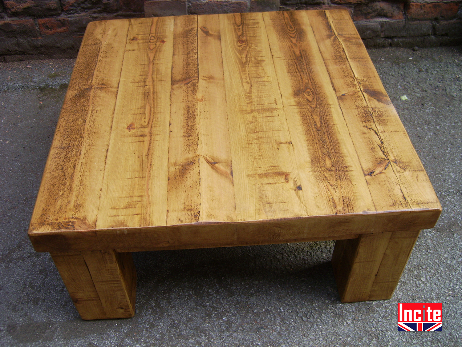 Plank Pine Chunky Coffee Table 2