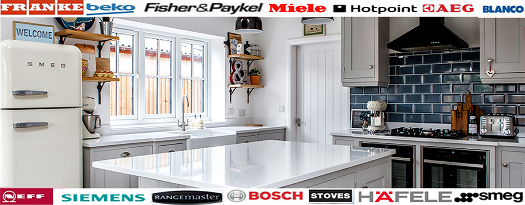 Custom made hand painted kitchens Derbyshire