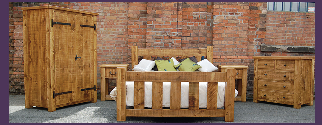 Handcrafted Plank Pine Bedroom Package Deals from £1395.00