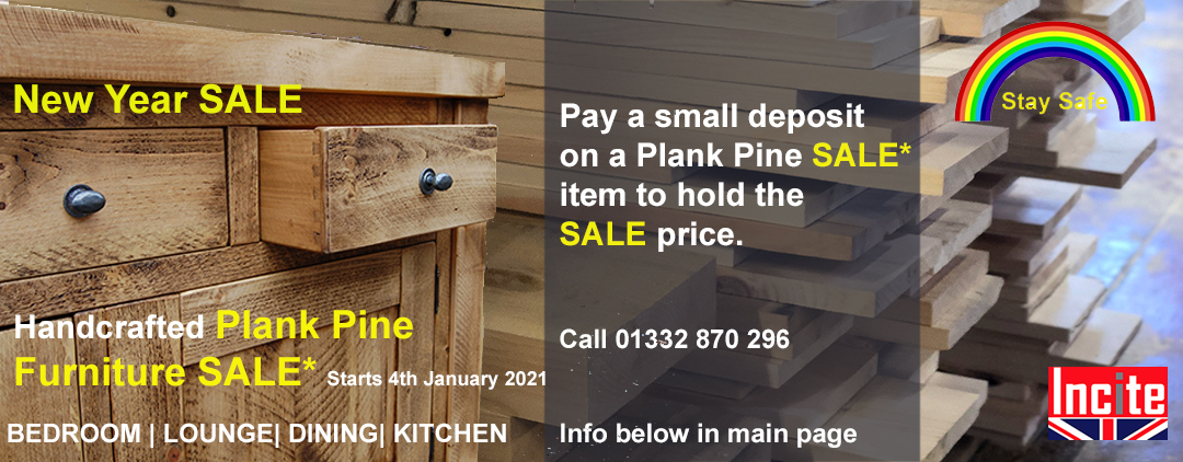 Incite Plank Furniture sale, bedroom, dining, lounge, kitchen pay a deposit to hold